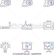 Smoking Chart Smoking Idea Chart Graph Percentage Navigation Share Eps Icons Set Vector