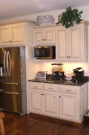 Antique Cabinets For Kitchen Distressed Kitchen Cabinets White Steps White Distressed Kitchen