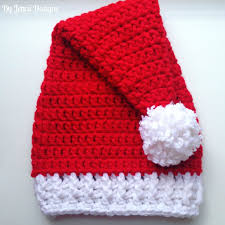 Crochet Santa Hat Pattern Simple Inspiration Ideas