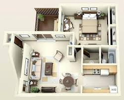 One Bedroom Apartment Design