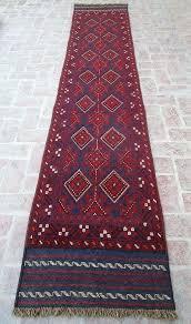 turkish rug runner size x feet cm nomadic red area wool antique blue turkish rug