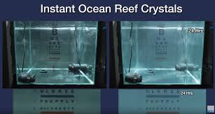 Reef Salt Comparison Chart How Long Does It Take To Mix Saltwater Bulk Reef Supply