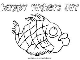challenge fathers day coloring pages for kids happy father s fish page preschool