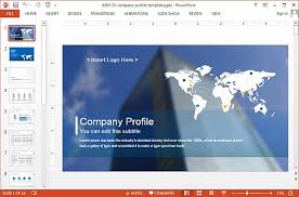 powerpoint company presentation sample company profile ppt company profile presentation sample