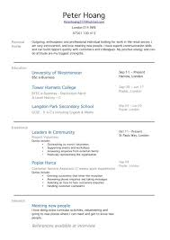 Resume Format Sample With No Work Experience Resume And Cover