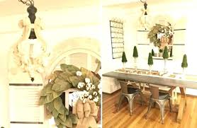 distressed white metal chandelier wood chandeliers steals french shabby