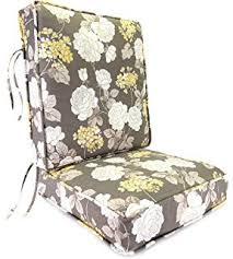 jordan manufacturing deep seating boxed style chair cushion for seat and back vivienne putty