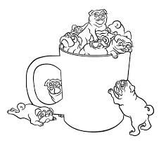 pencil coloring sheet.  Coloring Pug Dog Coloring Pages In A Cup Page Or Pencil  In Pencil Coloring Sheet E