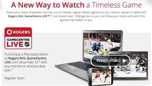 Bell vs rogers home internet explained. Rogers Announces Nhl Gamecentre Live For 199 Free Trial Until Dec 31 Iphone In Canada Blog