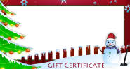 christmas certificates templates free christmas gift certificate cards customize and print
