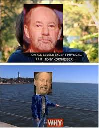 On all levels I am Tony Kornheiser | On All Levels Except Physical ... via Relatably.com