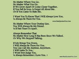 I Will Always Love You Quotes Custom I Will Always Love You Quotes Poems Collection Of Inspiring Quotes