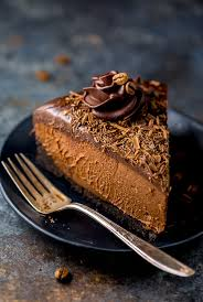 no bake espresso chocolate cheesecake