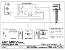 visual nurse call system 4000 series nurse call system nurse visualnurse a 4003aschematic jpg