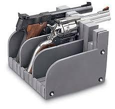 Handgun Display Stand 100 Gun Safe Pistol Rack Handgun Storage Holder Organize Display 73