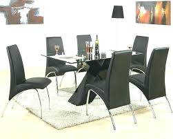 full size of modern black dining table set rectangular glass new room ideas se contemporary sets
