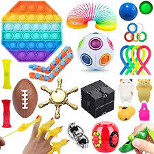 (977) inspire a love of reading with amazon book box for kids. Amazon Com Luxury 30 Pcs Fidget Toys Set 30 Pcs Stress Relief And Anti Anxiety Tools Bundle For Kids And Adults Marble And Mesh Pack Of Squeeze Balls Soybean Squeeze Push Pop Bubble Fidget