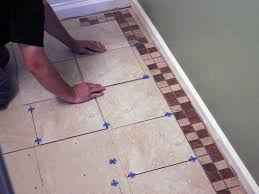 Tiled Bathroom Floors How To Install Bathroom Floor Tile How Tos Diy