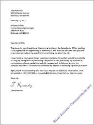 Thank You Letter After The Job Interview Businessletter Acceptance