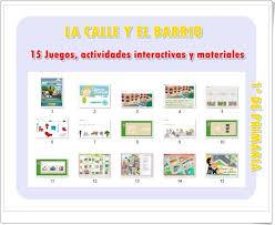 El kiosco visual de internet. La Calle Y El Barrio 15 Juegos Actividades Interactivas Y Materiales Didacticos De 1º De Primaria Actividades Interactivas Actividades Juegos De Barrio