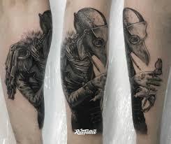 чумной доктор значение татуировок в россии Rustattooru