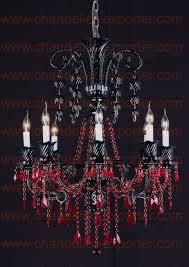black crystal chandelier lighting. best 25 red chandelier ideas on pinterest black lamps and lamp shade crystal lighting n