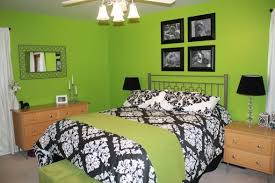 black and white and green bedroom. black and green bedroom white damask girls pinterest