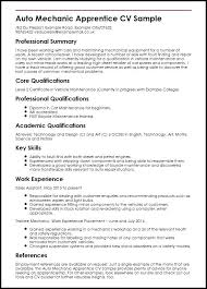 Mechanic Resume Mesmerizing Resume Examples For A Mechanic As Well As Auto Mechanic Resume