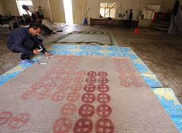 iranian workers create felt rugs for export in iran photo melina raissnia melina