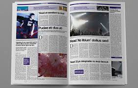 Creative Newspaper Template Newsletter Clipart Tabloid Transparent Pictures On F Scope