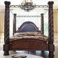 ashley millennium casa mollino bedroom set. north shore canopy bed ashley millennium casa mollino bedroom set