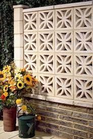 breeze block wall breeze blocks