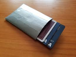 picture of simple rfid blocking wallet