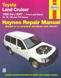 Toyota Landcruiser Repair Manual: 2005-2007.: Haynes Publishing ...