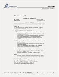 Skills Section For Resumes 014 Biology Research Paper Lovely Resume Skills Section