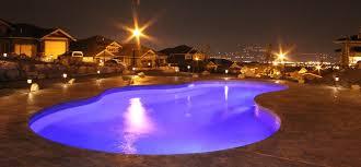 inground pools at night. 18 X 36 Mountain Lake Pool Inground Pools At Night