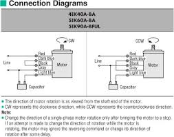item 5ik90a bful 2 pole high speed induction motor on oriental connection diagram