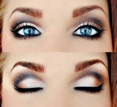 pretty makeup ideas for blue eyes smokey eye makeup for blue eyes steps eye makeup