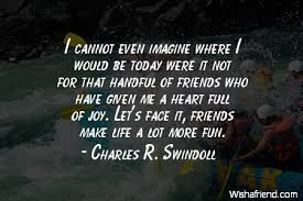 Quotes About Joy 84 Inspiration Charles R Swindoll Quote I Cannot Even Imagine Where I Would Be