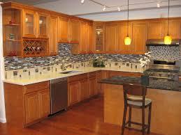 honey maple kitchen cabinets. Granite Countertops With Honey Maple Cabinets Trekkerboy Kitchen