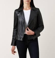 black yasmine leather jacket casual jackets coats and jackets
