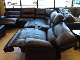 sectional couches leather sectionals power reclining sectional