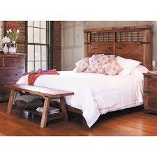 Parota King Platform Bed 866 KBED2 Artisan Home IFD866 AFW