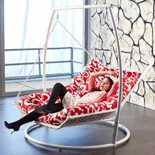 indoor hanging chaise lounge i love this enough room for two more