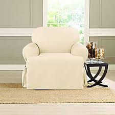 Living room chair covers Seat Sure Fit Heavyweight Chair Cover Bed Bath Beyond Chair Recliner Slipcovers Dining Room Chair Covers Bed Bath
