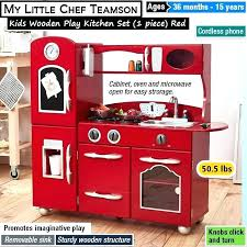 kids play kitchen set best wooden sets plastic toys for toddlers