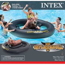 pool water with float. Contemporary Water Image Is Loading INTEXGiantInflatabullFunBullRidingInflatableSwimming  Throughout Pool Water With Float D