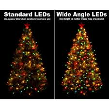 25 ft string light 50 purple led bulbs black wire 25 ft stringer 50 wide angle leds purple image