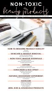 my favorite non toxic makeup and clean beauty s natural skincare best natural