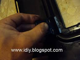 oven door glass how to replace